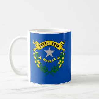Mug with Flag of Nevada State - USA