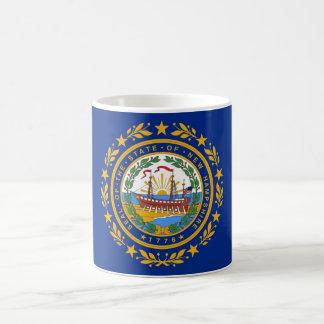 Mug with Flag of  New Hampshire State - USA