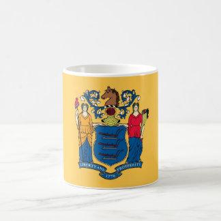 Mug with Flag of New Jersey State - USA