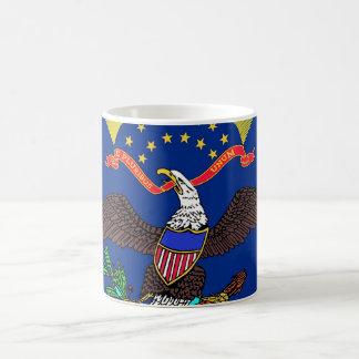 Mug with Flag of North Dakota State - USA