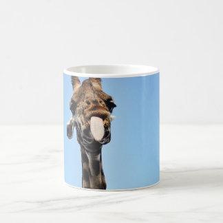 Mug with funny Giraffe