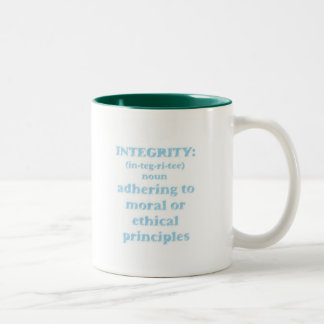 Mug with Integrity Design