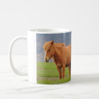 Mug With Picture of Icelandic Horses