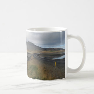 Mug With Picture of Spectacular Hills (In Iceland)