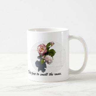 Mug with Rose Arrangement