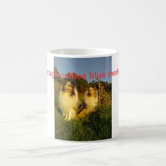 mug with rough collies