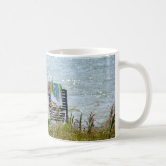Mug with Sanibel Island Beach scene.