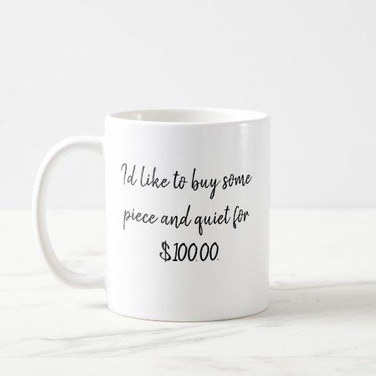 Mug with work humour