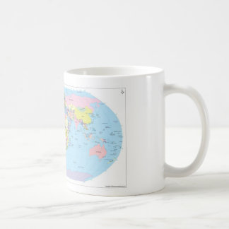 Mug with World map
