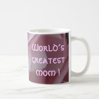 mug, World´s greatest mom ! Basic White Mug