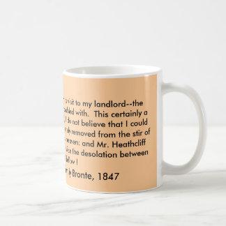 Mug, Wuthering Heights by Emily Bronte, 1847 Coffee Mug