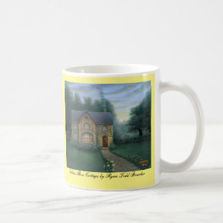 Mug YELLOW ROSE COTTAGE bone china by R.T. Brucker