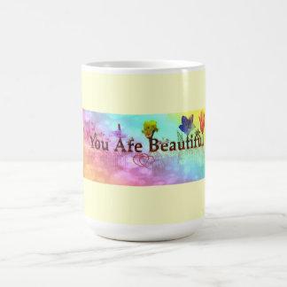 MUG-YOU ARE BEAUTIFUL BASIC WHITE MUG