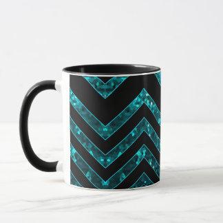 Mug Zig Zag Sparkley Texture