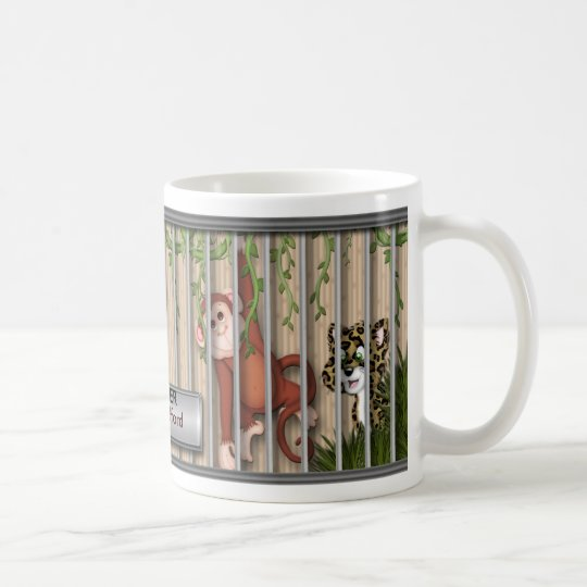 MUG - ZOO ANIMALS - ZOO KEEPER -