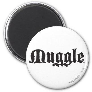 Muggle 6 Cm Round Magnet