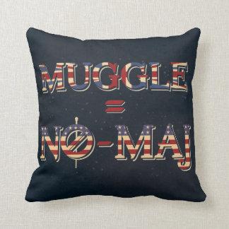 Muggle = No-Maj Cushion