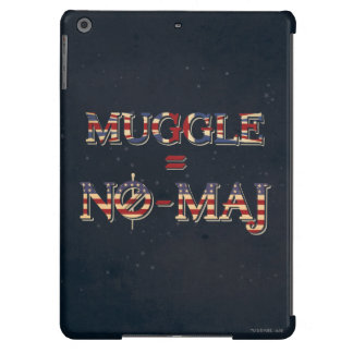 Muggle = No-Maj iPad Air Case