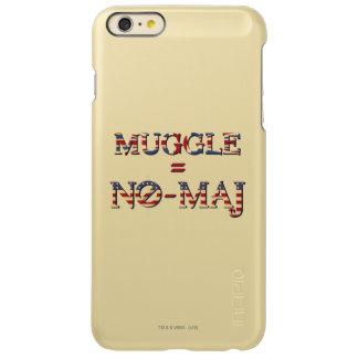 Muggle = No-Maj iPhone 6 Plus Case
