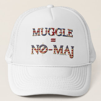 Muggle = No-Maj Trucker Hat