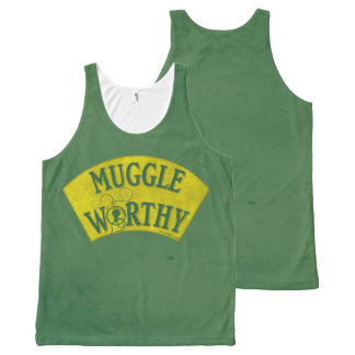 Muggle Worthy All-Over Print Tank Top