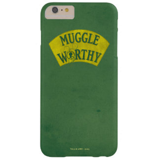 Muggle Worthy Barely There iPhone 6 Plus Case