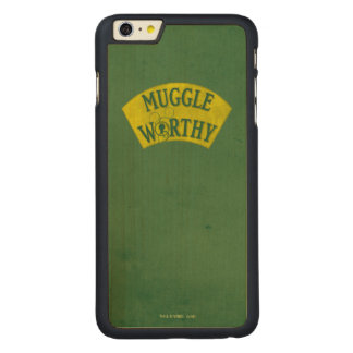 Muggle Worthy Carved® Maple iPhone 6 Plus Case