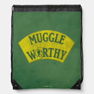 Muggle Worthy Drawstring Bag