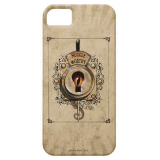 Muggle Worthy Lock With Fantastic Beast Locked In Barely There iPhone 5 Case