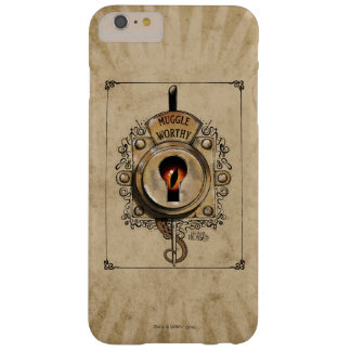 Muggle Worthy Lock With Fantastic Beast Locked In Barely There iPhone 6 Plus Case