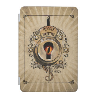Muggle Worthy Lock With Fantastic Beast Locked In iPad Mini Cover