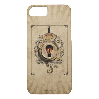Muggle Worthy Lock With Fantastic Beast Locked In iPhone 8/7 Case