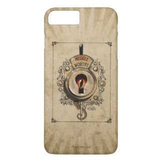 Muggle Worthy Lock With Fantastic Beast Locked In iPhone 8 Plus/7 Plus Case
