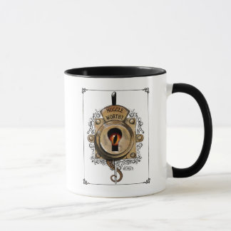 Muggle Worthy Lock With Fantastic Beast Locked In Mug