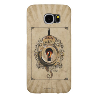 Muggle Worthy Lock With Fantastic Beast Locked In Samsung Galaxy S6 Cases
