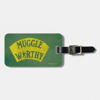 Muggle Worthy Luggage Tag