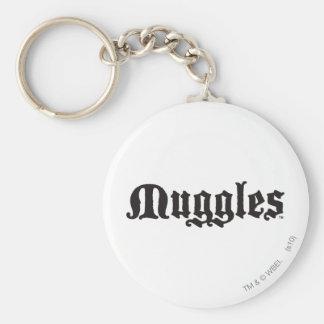 Muggles Keychain