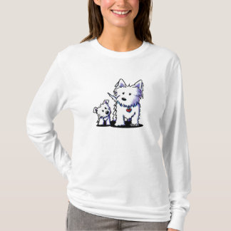Muggles & Mom Westies 2-Sided T-Shirt