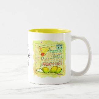 Mugs, Cups - Lemon Drop Martini