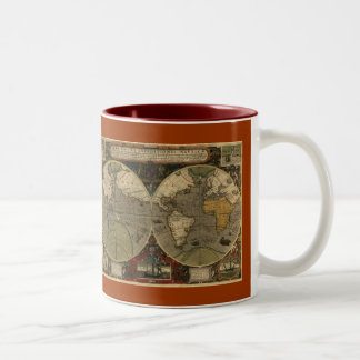 MUGS FROM HISTORY Old World Map Collection