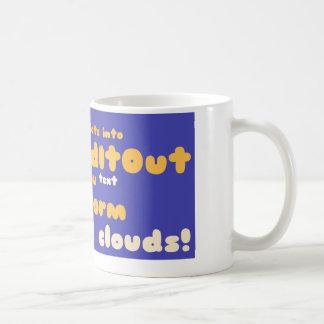 Mugs: wrapped around layout basic white mug