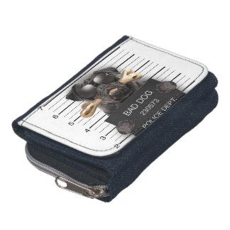 Mugshot dog,funny pug,pug wallets