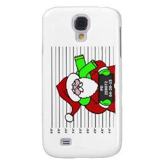 'Mugshot: Santa' Galaxy S4 Case