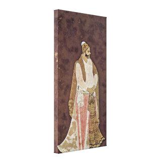 Muhammad Ali - a poet in a garden Gallery Wrap Canvas