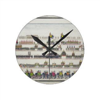 Muharram Ceremony, Faizabad, 1772 from 'The Gentil Round Clock