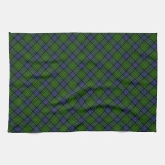 Muir Clan Tartan Designed Print Tea Towel
