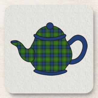 Muir Tartan Plaid Teapot Coasters