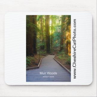 Muir Woods Walkway California Products Mousepads