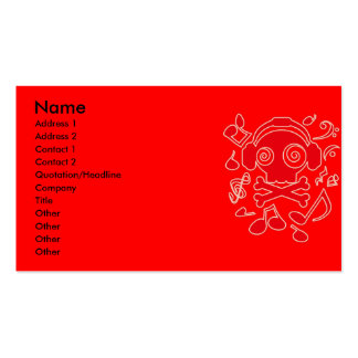 MuJack Business Card Template