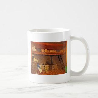 Mujer y su Perro en La Cocina - Food Museum Coffee Mug